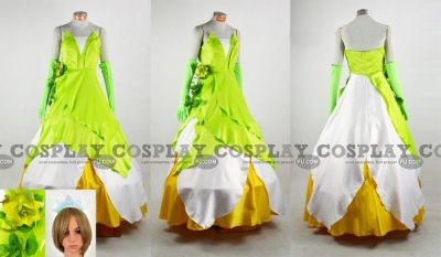 Tiana Cosplay from The Princess and The Frog