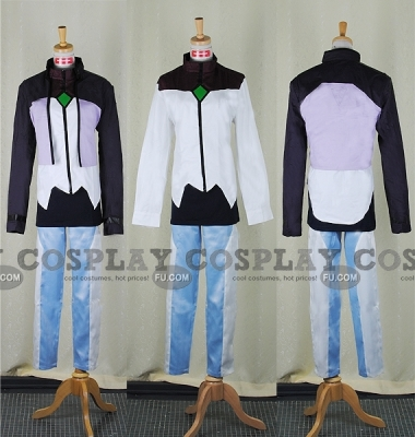 Tieria Cosplay (Uniform 2-254) from Gundam 00