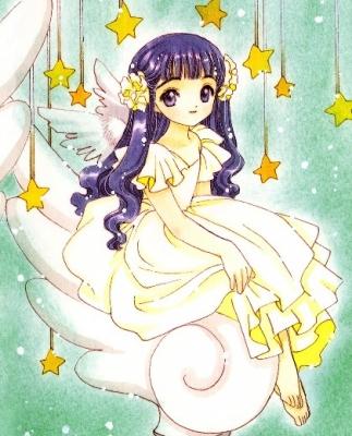 Tomoyo Cosplay (Angel) from Cardcaptor Sakura