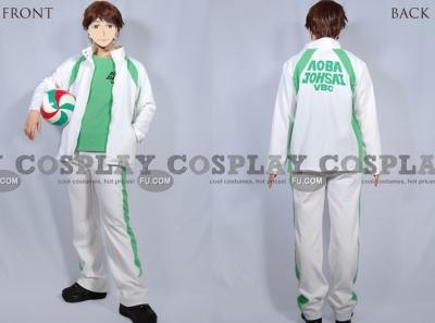 Toru Cosplay (Aobajousai High Uniform) from Haikyu