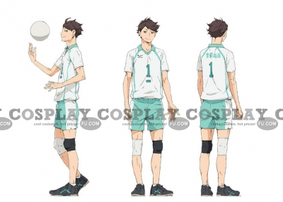 Toru Cosplay from Haikyu
