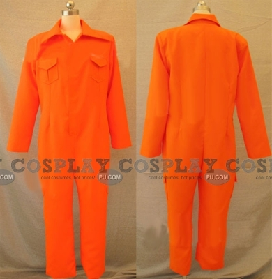 Tsuna Cosplay (Jumpsuit) from Reborn