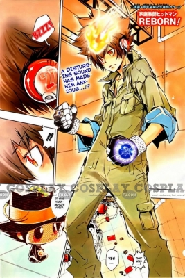 Tsuna Costume from Katekyo Hitman Reborn