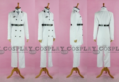 Ishida Cosplay (White) from Bleach