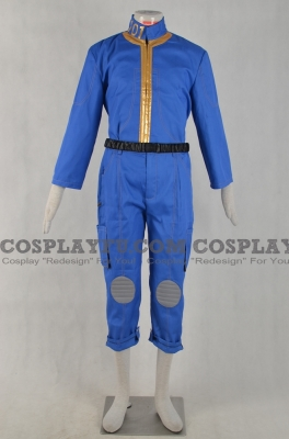 Vault 101 Cosplay (Light Blue) from Fallout 3