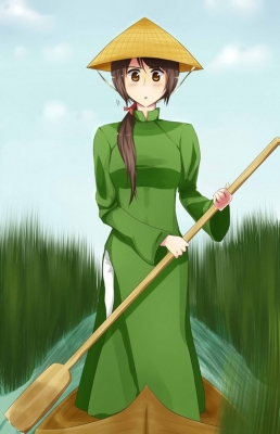 Vietnam Cosplay from Axis Powers Hetalia