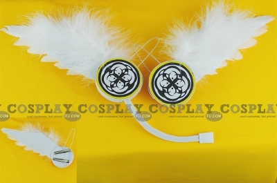 Vocaloid Headphones (Rin,Len,Wing,Magnet,package)