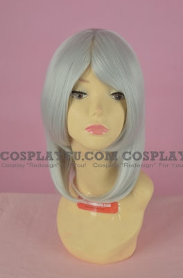 White Wig (Short,Straight, Chika)
