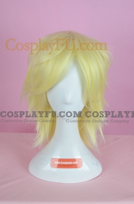 Yellow Wig (Spike, Short, Snow)