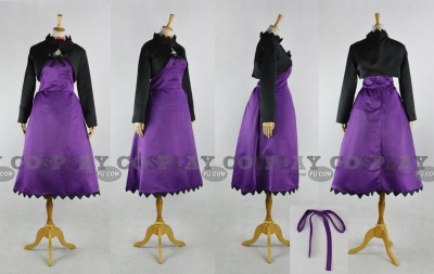 Yin Cosplay (Purple Dress) from Darker than BLACK
