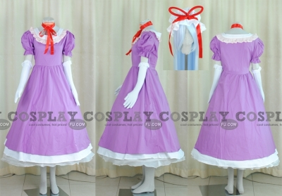 Yukari Cosplay (Purple Dress) from Touhou Project