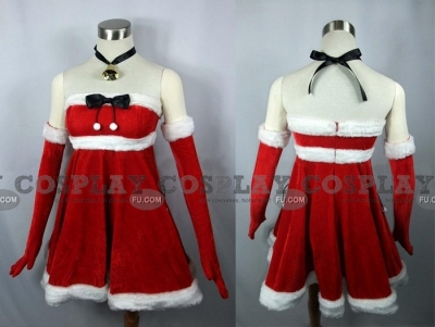 Yume Cosplay (Dream Christmas) from Da Capo