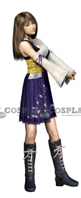 Yuna Cosplay from Final Fantasy