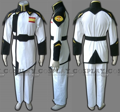 Zaft Uniform (White 2-238) from Gundam Seed