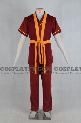 Zuko Costume from Avatar The Last Airbender