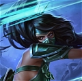 Akali Costume von League of Legends