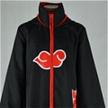 Akatsuki Cloak Cosplay Costume With Hood from Naruto