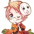 Alfred Cosplay (Halloween) Da Hetalia Axis Powers