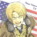 Alfred Cosplay Wig (America) from Axis Powers Hetalia