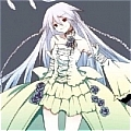 Alice White Rabbit  Cosplay Costume from Pandora Hearts