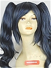 Amazing Grey Blue Wavy Costume Clip-on Wig (Megan)