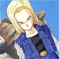 Android 18 Cosplay von Dragon Ball