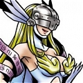 Angewomon Cosplay von Digimon Adventure
