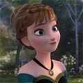 Anna Wig (2nd) De  Frozen