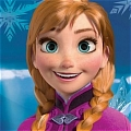 Anna Wig from Frozen