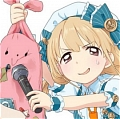 Anzu Cosplay (Blue) De  The Idolmaster Cinderella Girls