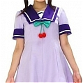 Aoi Cosplay (School Uniform,Kids) Desde Twin Angle
