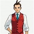Apollo Cosplay Costume from Ace Attorney