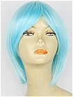 Aqua Blue Short Costume Wig (Sean)
