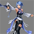 Aqua Costume from Kingdom Hearts