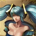 Arcade Sona Wig Da League of Legends