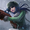 Arctic Warfare Caitlyn Cosplay from League of Legends