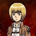 Armin Cosplay De  L'Attaque des Titans