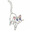 Artemis Cosplay from Sailor Moon