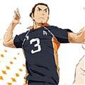 Asahi Cosplay from Haikyu!!