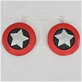Asakur Earrings Desde Shaman King