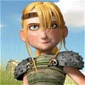 Astrid Cosplay Da How to Train Your Dragon
