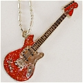 Azusa Guitar (Necklace Red) De  K ON