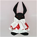 B Rabbit Plush Da Pandora Hearts