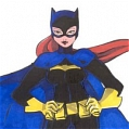 Batgirl Cosplay De  Batman
