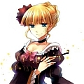 Beatrice Cosplay (Party Dress) from Umineko no Naku Koro ni