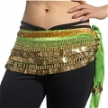 Belly Dance Costume (9 colors, 338 coins)