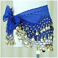 Belly Dance Costume (128 coins Blue)