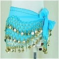 Belly Dance Costume (128 coins Lake Blue)