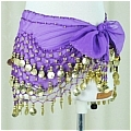 Belly Dance Costume (128 coins Purple)