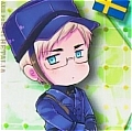 Berwald (Sweden) Cosplay Costume from Axis Powers Hetalia